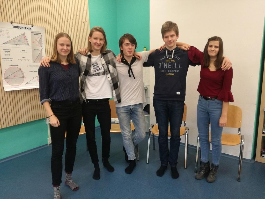 Absolventi Montessori ZŠ Na Beránku
